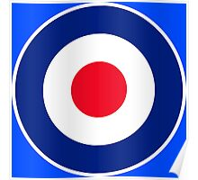 Classic Roundel Graphic Poster