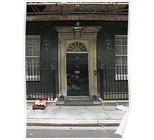 10 Downing Street Refurb Poster