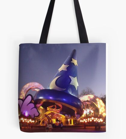 Sorcerers Hat - Hollywood Studios Tote Bag