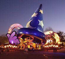 Sorcerers Hat - Hollywood Studios by disneyfied