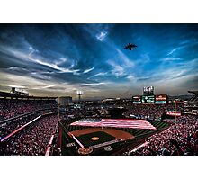 Flyby Night Glow Photographic Print