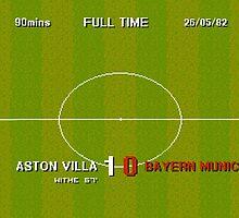 Sensible Scorelines - Aston Villa 1 Bayern Munich 0 by twelfthman