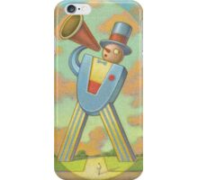 Megaphone Man iPhone Case/Skin