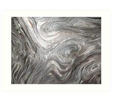 wood grain Art Print