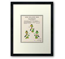 Jose Carioca Patent - Colour Framed Print