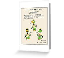 Jose Carioca Patent - Colour Greeting Card