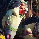 Merry-go-round horse by Yves Roumazeilles