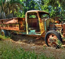 The Forgotten Truck by SueAnne
