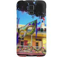 Mardi Gras in New Orleans Square Samsung Galaxy Case/Skin