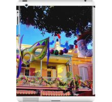 Mardi Gras in New Orleans Square iPad Case/Skin