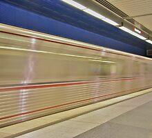 Metro Red Line by rengiemendoza