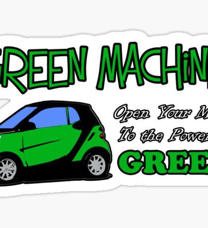 Green Machine Sticker