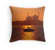 Setting Sail Throw Pillow