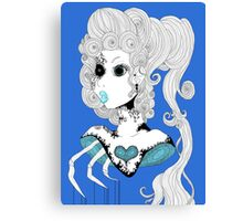 Blue Bust.  Canvas Print