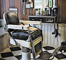 Lloyd's Barber Shop  by susi lawson