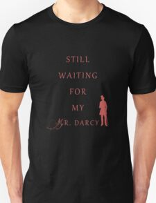 Waiting for My Darcy- Red T-Shirt