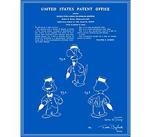 Jose Carioca Patent - Blueprint Photographic Print