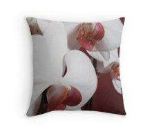 Orchid collection Throw Pillow