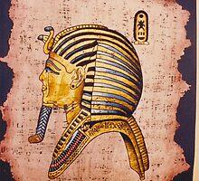 King Tutankhamun by Hani Baramky