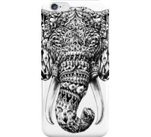 Ornate Elephant Head iPhone Case/Skin