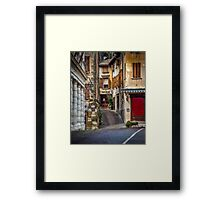 A Nook In Asolo Framed Print