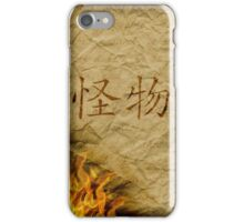 Writer's Heart / parchment iPhone Case/Skin
