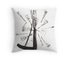 ZEN 4 Throw Pillow
