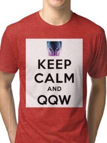 Keep Calm and Ghostwalk Tri-blend T-Shirt