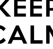 Keep Calm and Ghostwalk Sticker