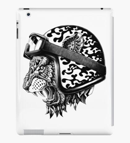 Tiger Helm iPad Case/Skin