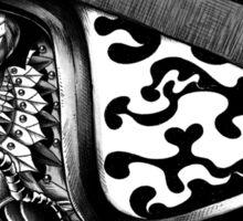 Tiger Helm Sticker