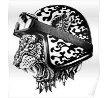 Tiger Helm Poster