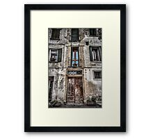 Behind These Doors Part 1 Framed Print
