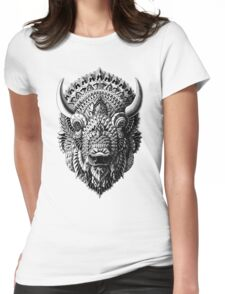 Bison Womens Fitted T-Shirt