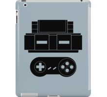 Let's Play SNES (Black) iPad Case/Skin