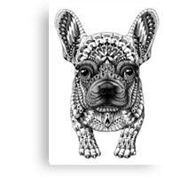 Frenchie (French Bulldog) Canvas Print