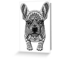 Frenchie (French Bulldog) Greeting Card