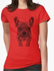 Frenchie (French Bulldog) Womens Fitted T-Shirt