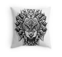 Ornate Lion Throw Pillow