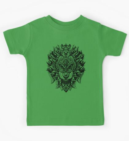 Ornate Lion Kids Tee