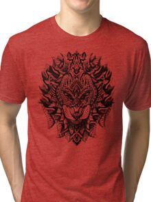 Ornate Lion Tri-blend T-Shirt