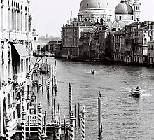 The Grand Canal Mornings by Venice