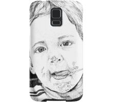 *Cotton Candy* Traditional Art in Ink Samsung Galaxy Case/Skin