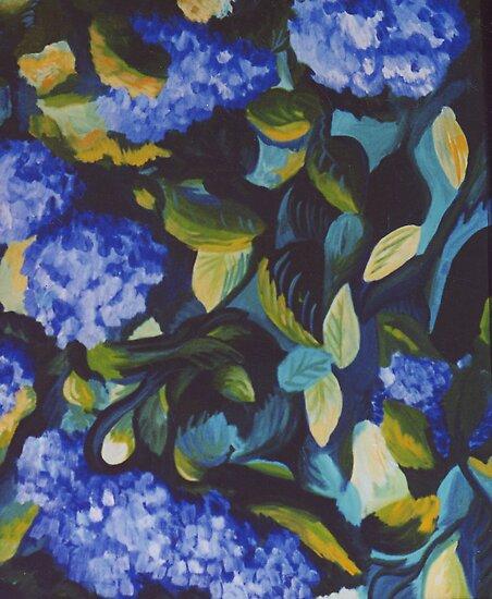 Dance in Blue and Green by Jill Mattson