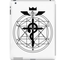 Fullmetal Transmutation - Black iPad Case/Skin