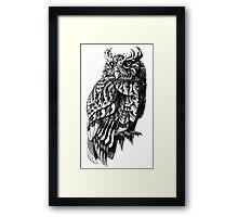 Owl 2.0 Framed Print