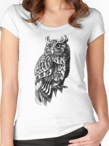 Owl 2.0 Women's Fitted Scoop T-Shirt