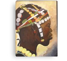African Prince Canvas Print