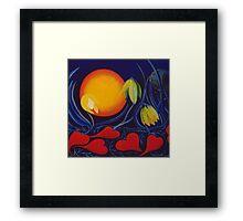 The Love of a Flower Framed Print