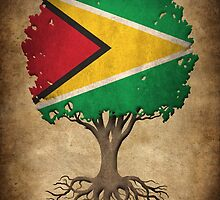 Tree of Life with Guyanese Flag by Jeff Bartels